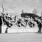 Monument à la gloire de la révolution près du mausolée de Mao-Pekin - Chine