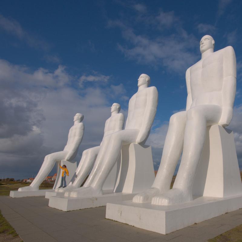 """Monument """"Der Mensch am Meer"""""""