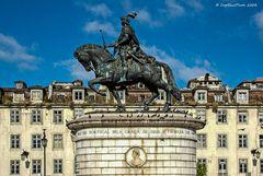 Monument Dom Joao I König von Portugal