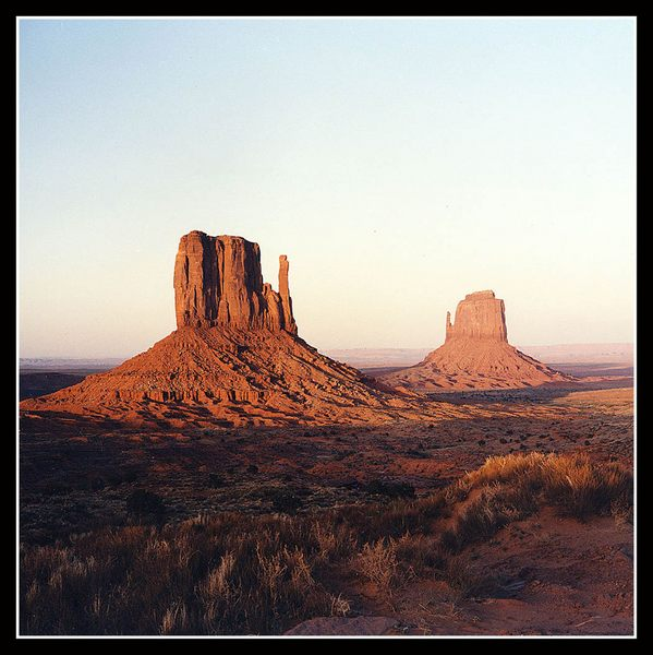Monument Valley am Abend