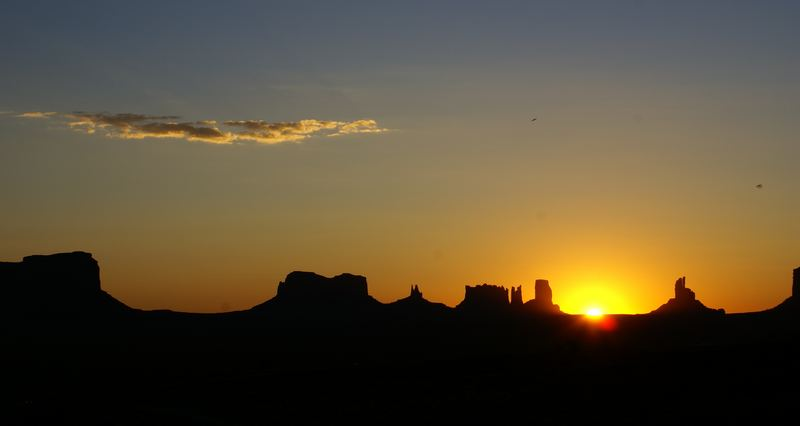 Monument Valley at Sunrise