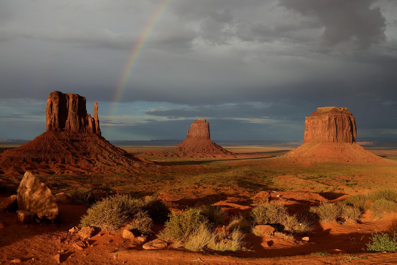 Monument Valley: Gewitterstimmung