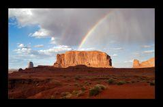 [ Monument Valley Rainbow ]