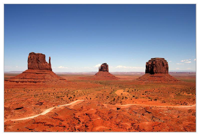 Monument Valley - Utah und Arizona - Navajo Land