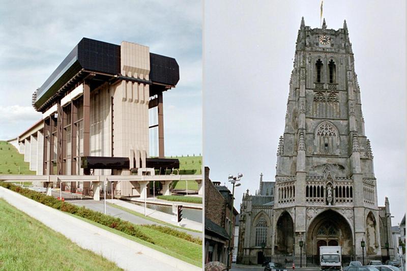 Monumentale Bauten in Belgien