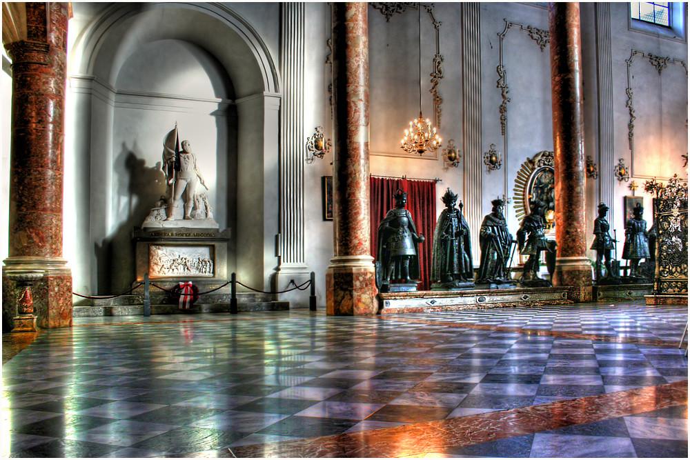 Monumento a Andreas Hofer - a quattro mani