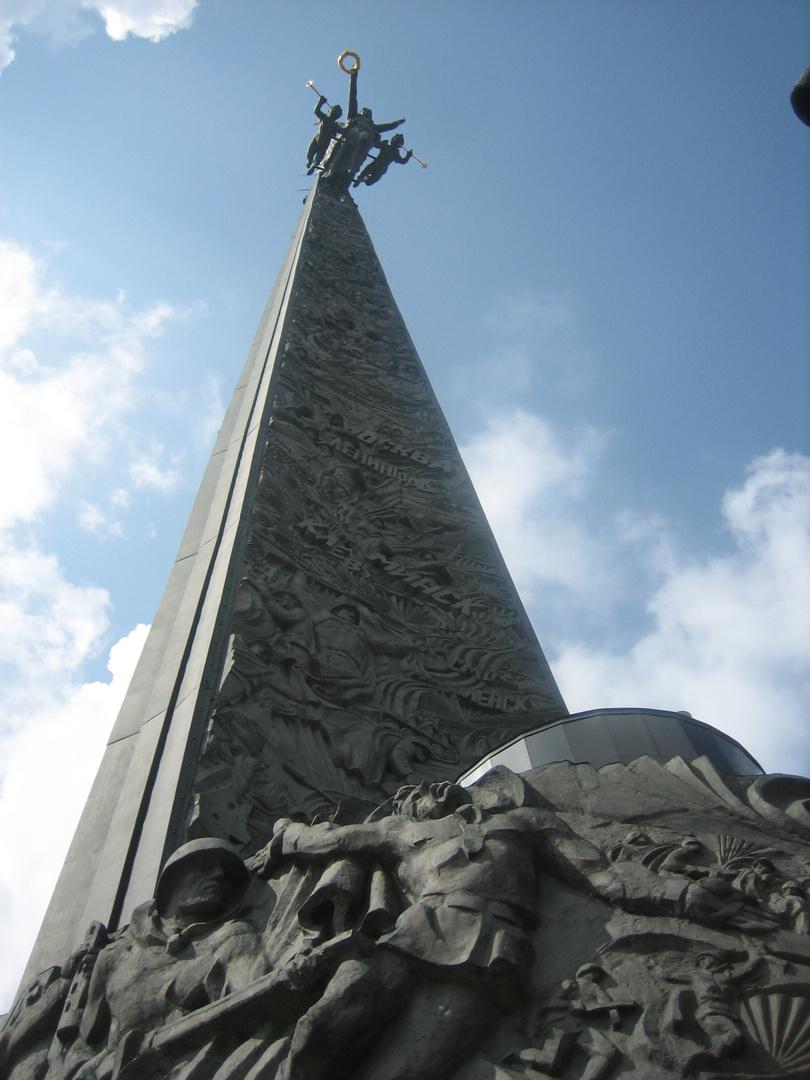 Monumento a La Victoria, Moscú