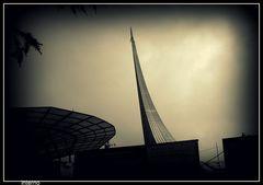 Monumento alla conquista sovietica dello spazio!