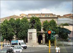 Monumento in  Roma ai Bersaglieri