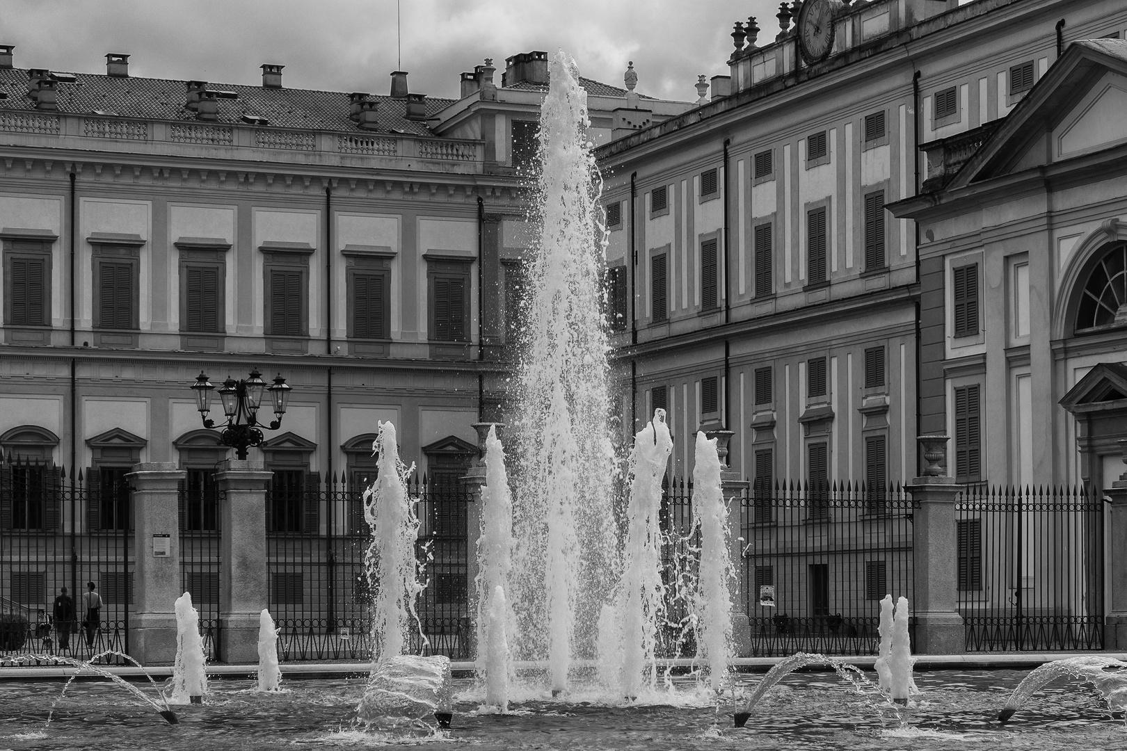 Monza, la fontana