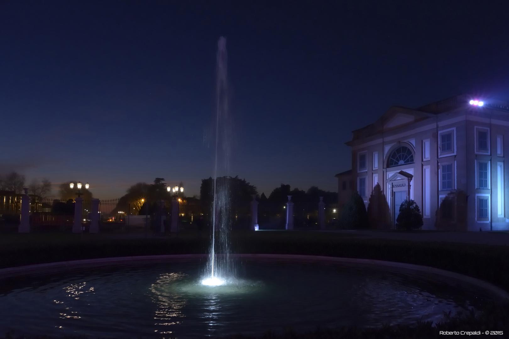 Monza, Palazzo Reale la fontana
