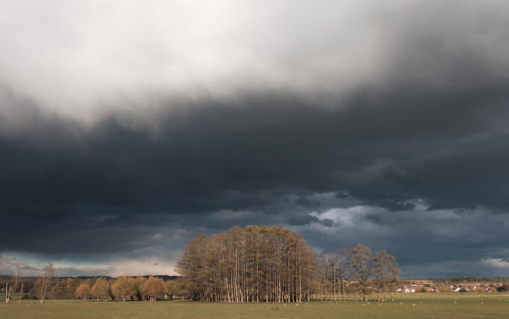 Moody Wolken