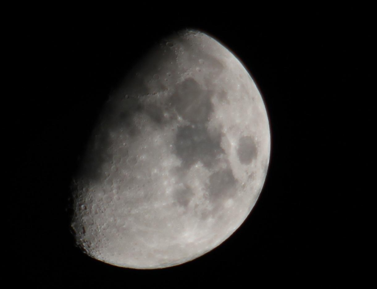 Moon over Corse