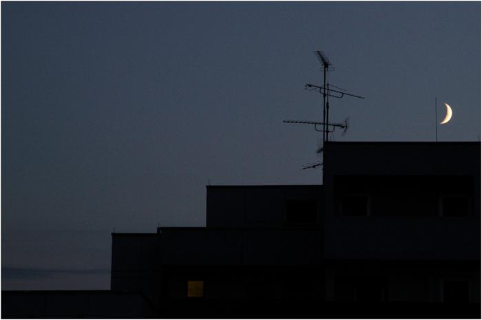 moon - window