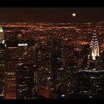 Moonlight over Manhatten