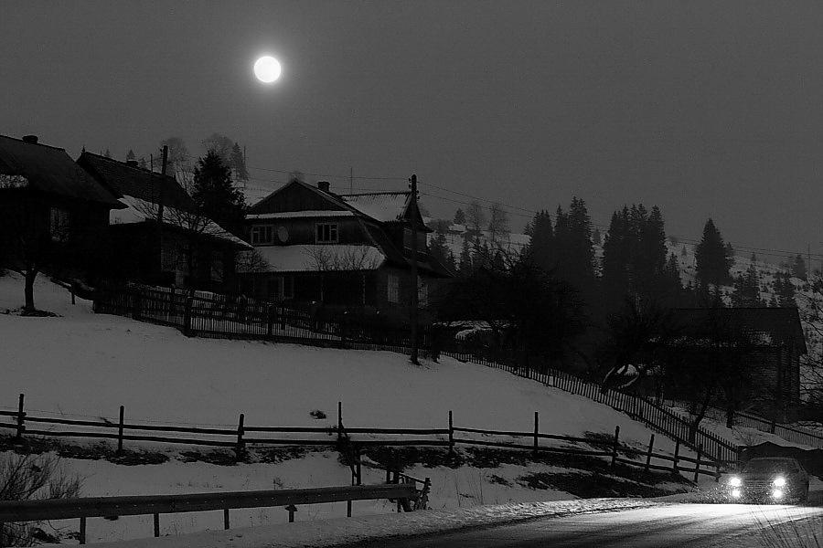 Moonlight taxi