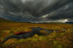 Moortümpel in den Highlands