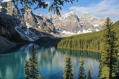 Moraine Lake im Banff National Park