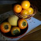 More fruit on kitchen table