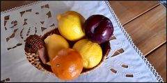 More fruit on table
