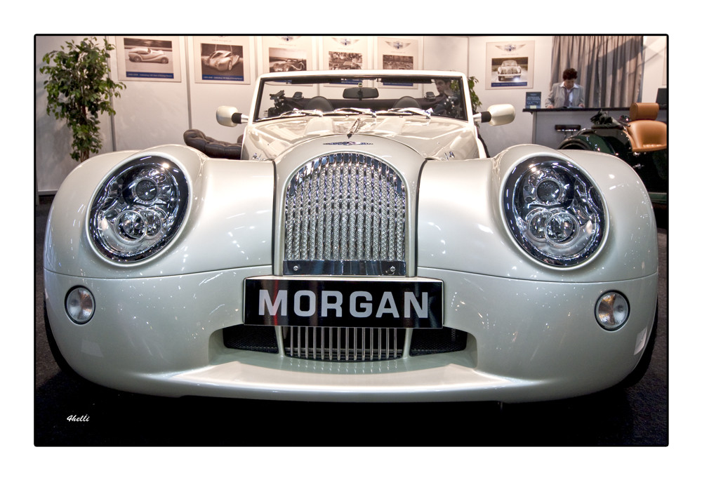 MORGAN - eine edle Karosse  -  Luxus Auto Motor Show Wien