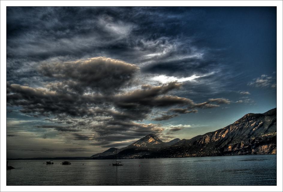 Morgen am Gardasee