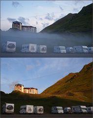 Morgendliche Nebel + Lichtspiele