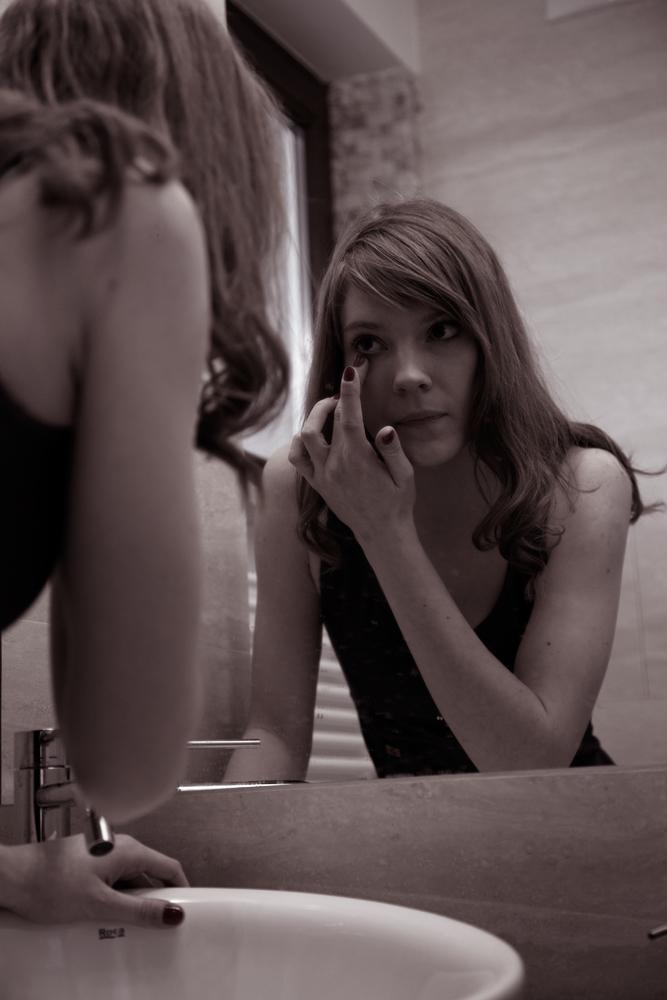 Morgendliche Rituale Teil II - die Toilette (Ela)