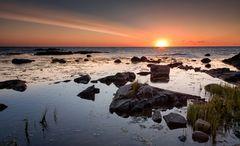Morgends an der Küste unweit von Allinge