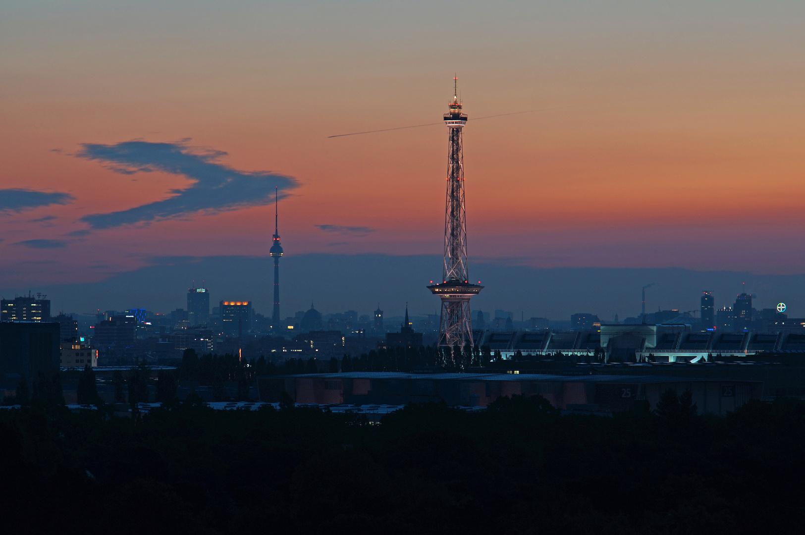Morgengrauen über Berlin