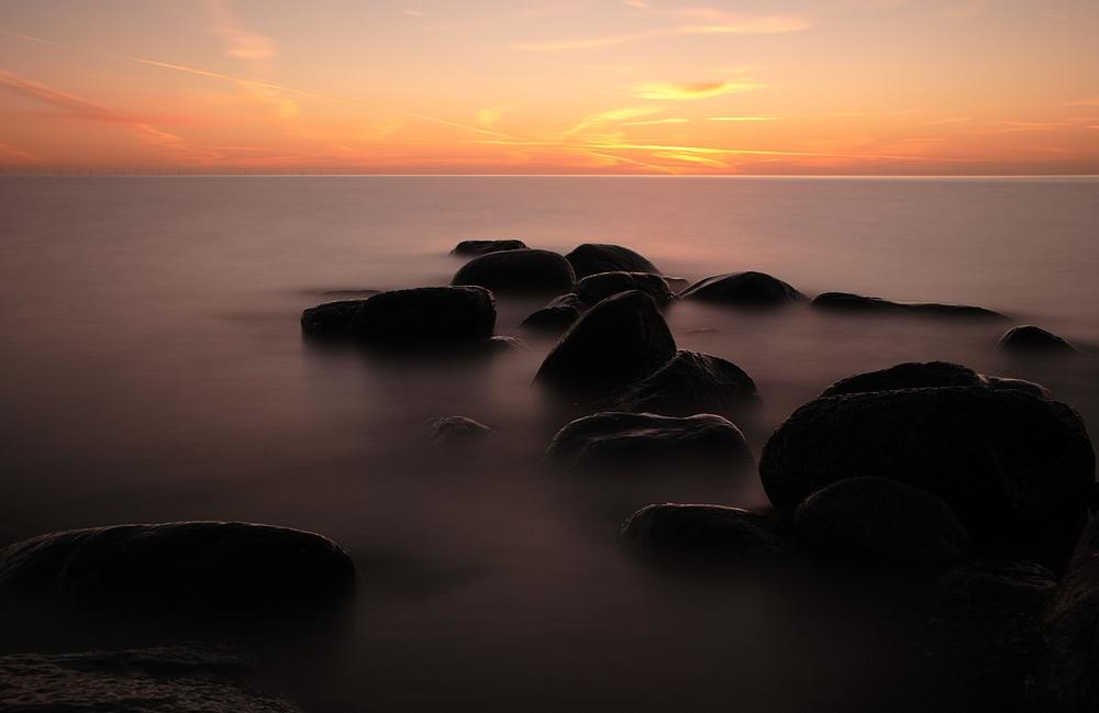 Morgengrauen über der Ostsee