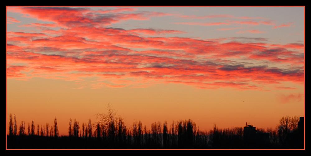 Morgenhimmel über Hamm *