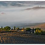 Morgenlicht im Val d'Orcia...