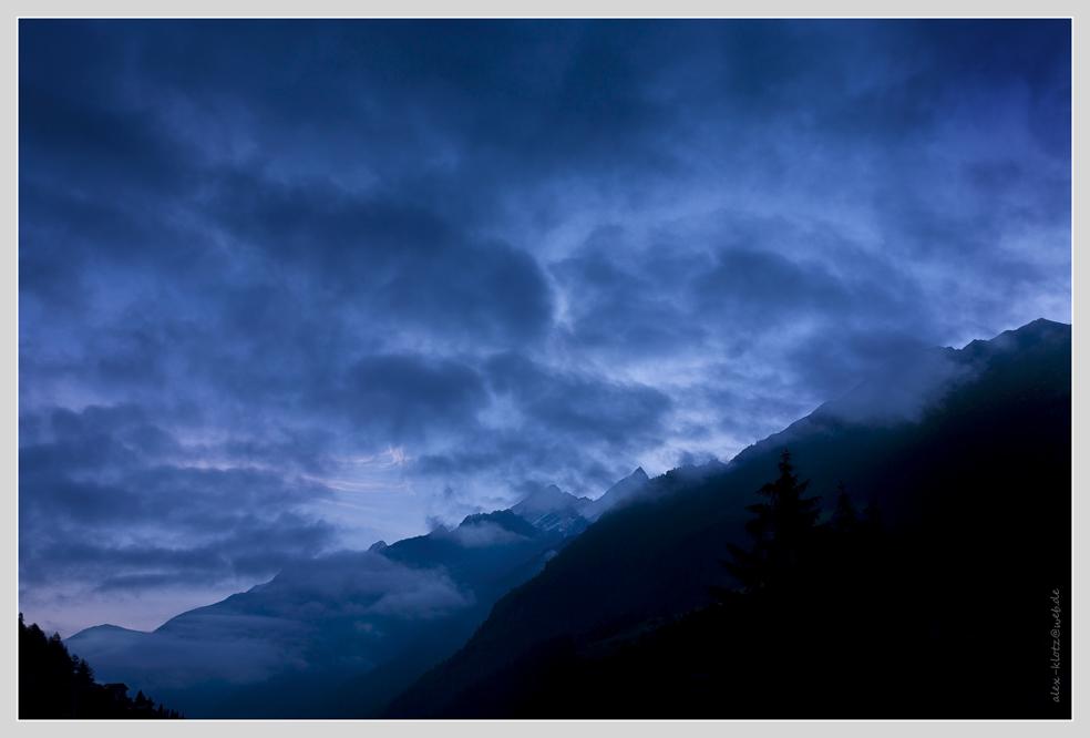 Morgenlicht nach dem Regen