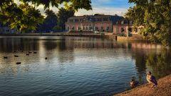 Morgenlicht Schloss  Benrath - Düsseldorf