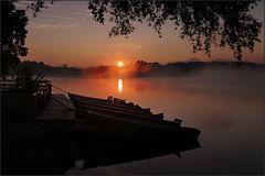 ~ Morgennebel auf dem Staffelsee I ~