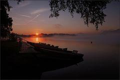 ~ Morgennebel auf dem Staffelsee II ~