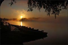 ~ Morgennebel auf dem Staffelsee VI ~