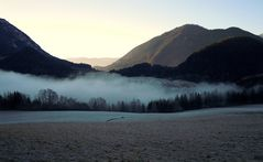 Morgennebel im Tal,