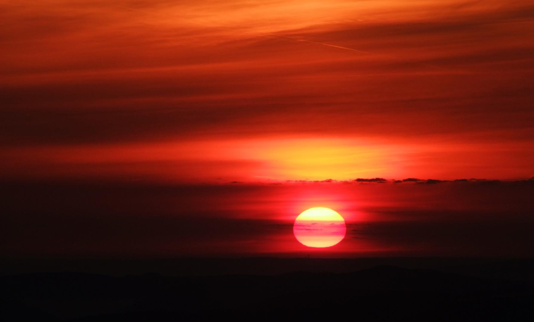 Himmel und Morgenröte