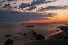 Morgenröte & Gewitterwolke