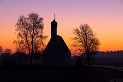 Morgenrot bei St. Maria Zell