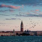 Morgenrot in Venedig