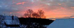 Morgenrot zur blauen Stunde...