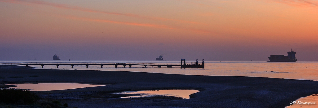 Morgens 05.30 Uhr an der Kieler Förde.......