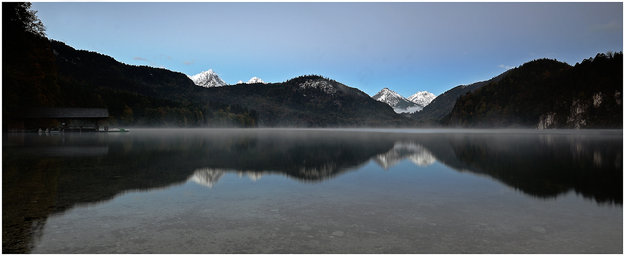 Morgens am Alpsee