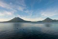 Morgens am Atitlán See