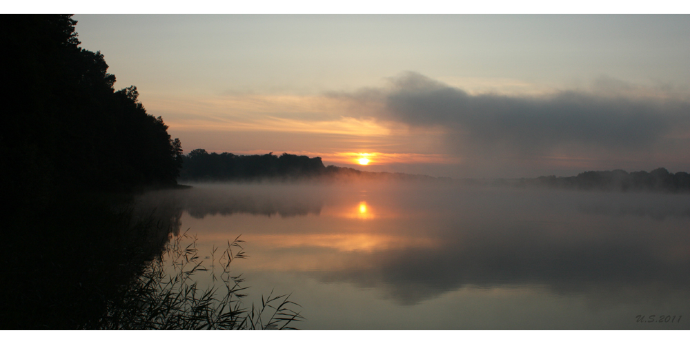 Morgens am Camminer See