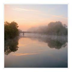 morgens am Fluß...