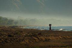 Morgens am Lake Malawi